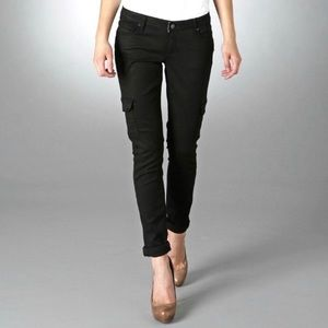 Anthropologie Paige Layne Skinny Cargo Jeans SOFT